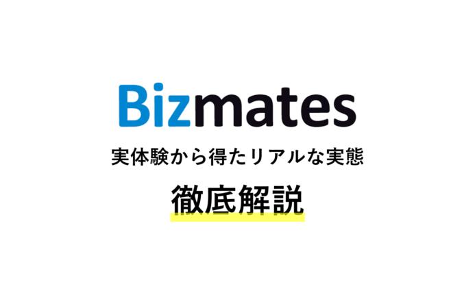 Bizmatesのリアルな評判・口コミ【実体験】